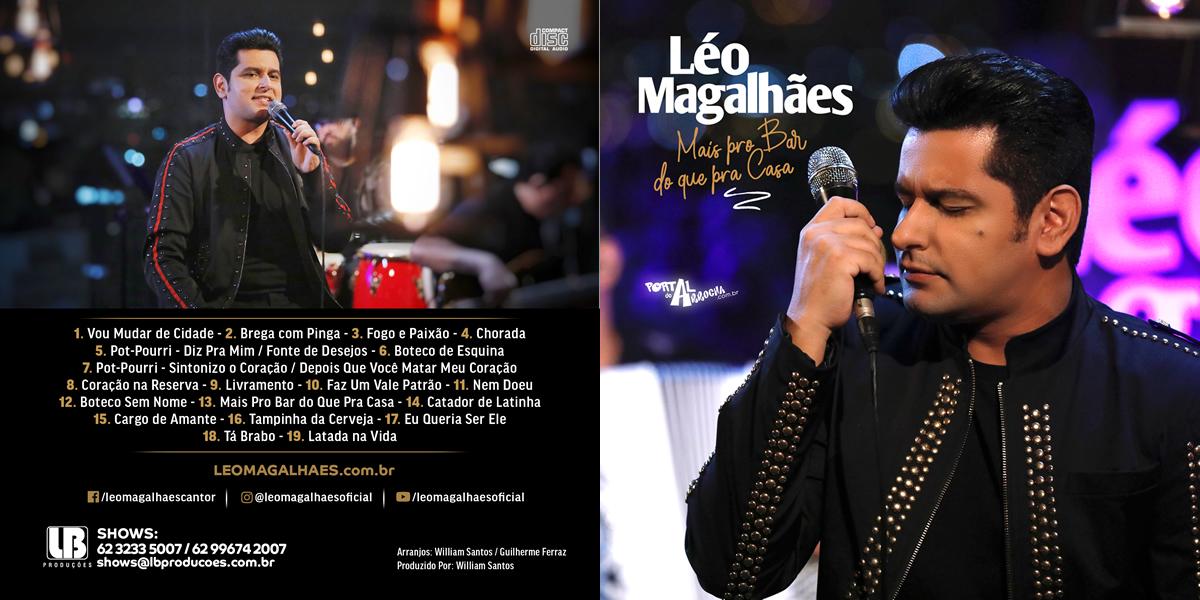 LÉO MAGALHÃES - CD 2019 - Download CD Completo